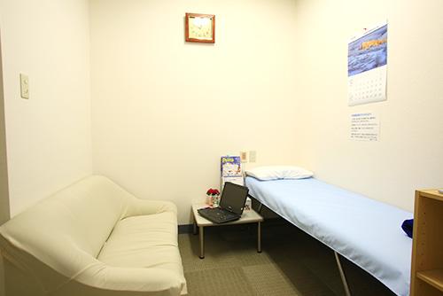 前処置のための控室